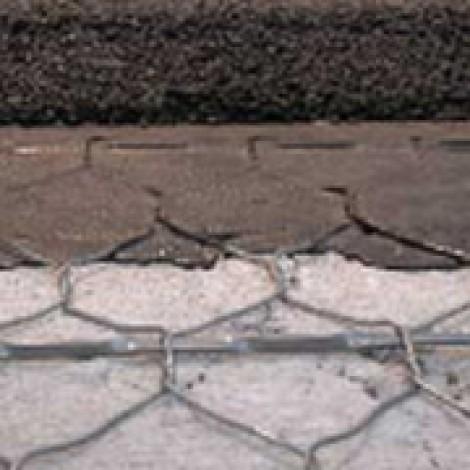 Mesh Track op beton